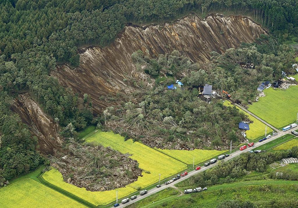 Sạt lở đất là gì ? thực trạng và tình hình sạt lở đất ở Việt Nam.